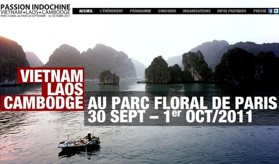 Passion Indochine, les 30 septembre et 1er octobre dans le parc floral de Vincennes