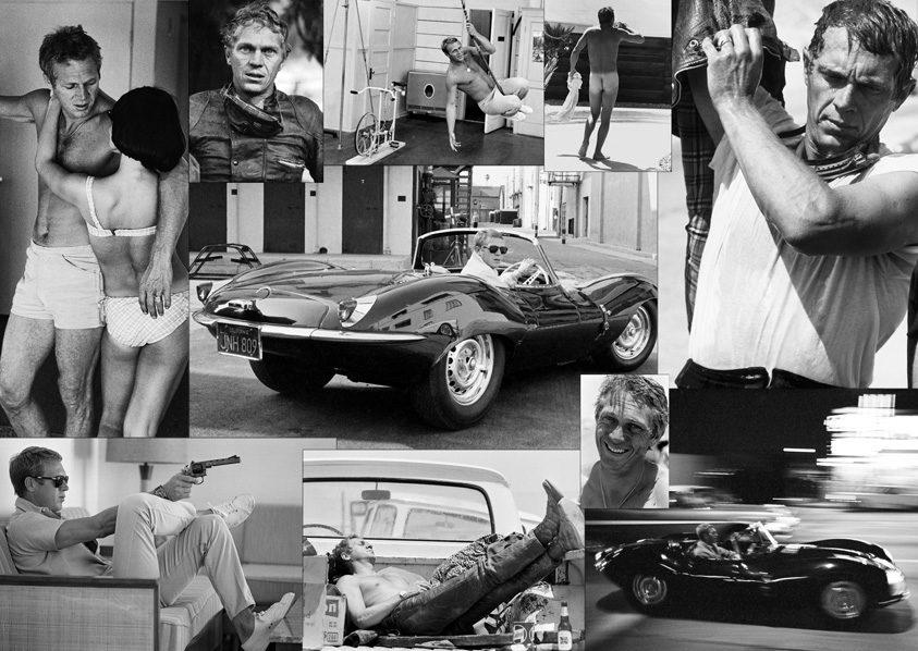 Des clichés inédits de Steve McQueen à la Galerie de l'Instant