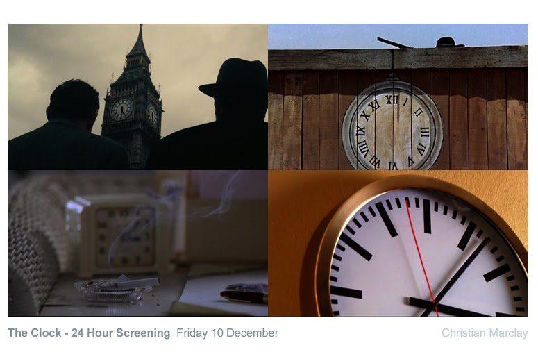 The Clock de Christian Marclay sera diffusé au Centre Pompidou du 3 au 5 septembre