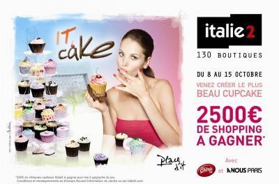 Cup cakes en folie à Italie 2 !