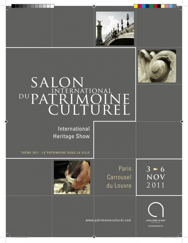 Le Salon du Patrimoine Culturel ouvre ses portes la semaine prochaine.