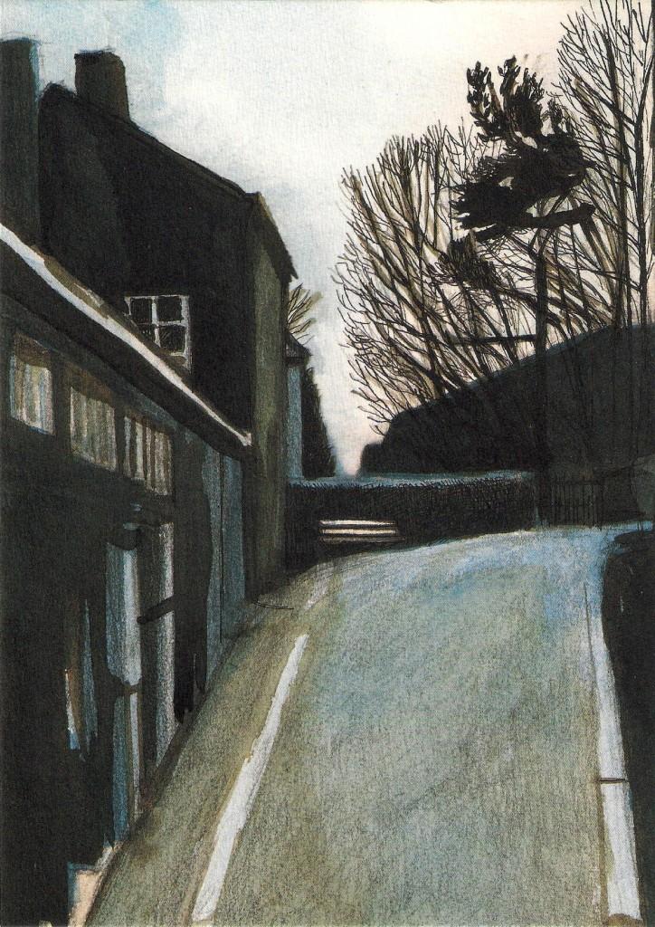 Anne Brouillard à l'Art à la page