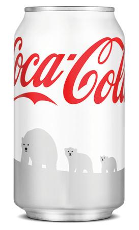 Les canettes de Coca Cola changent de couleur…