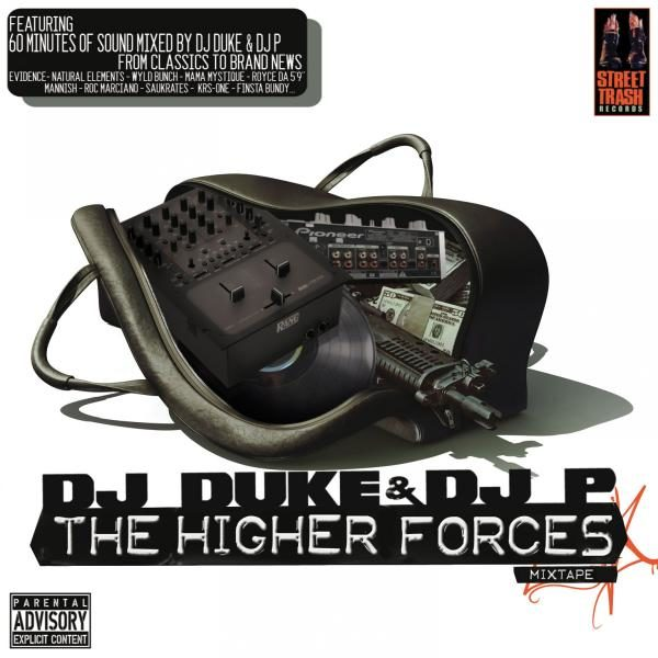 Sortie Hip-Hop : DJ Duke & DJ P – The Higher Forces Mixtape