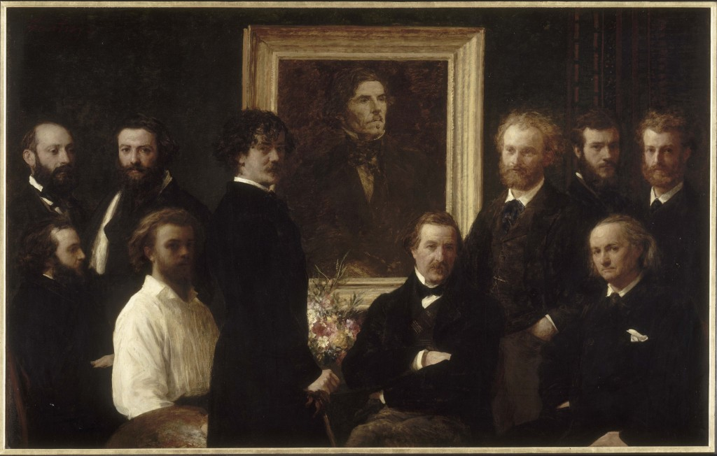 L'hommage à Delacroix de Fantin-Latour : un pied dans la modernité