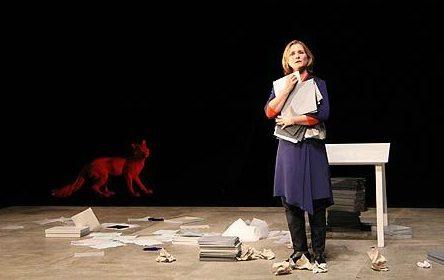 Natacha Régnier plombe la mémoire de Marina Tsvetaeva au Festival d'Automne