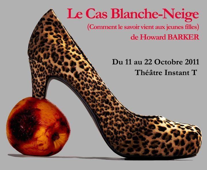 Lyon : «Le Cas Blanche-Neige» (Comment le savoir vient aux jeunes filles) d'Howard BARKER : une pomme acidulée