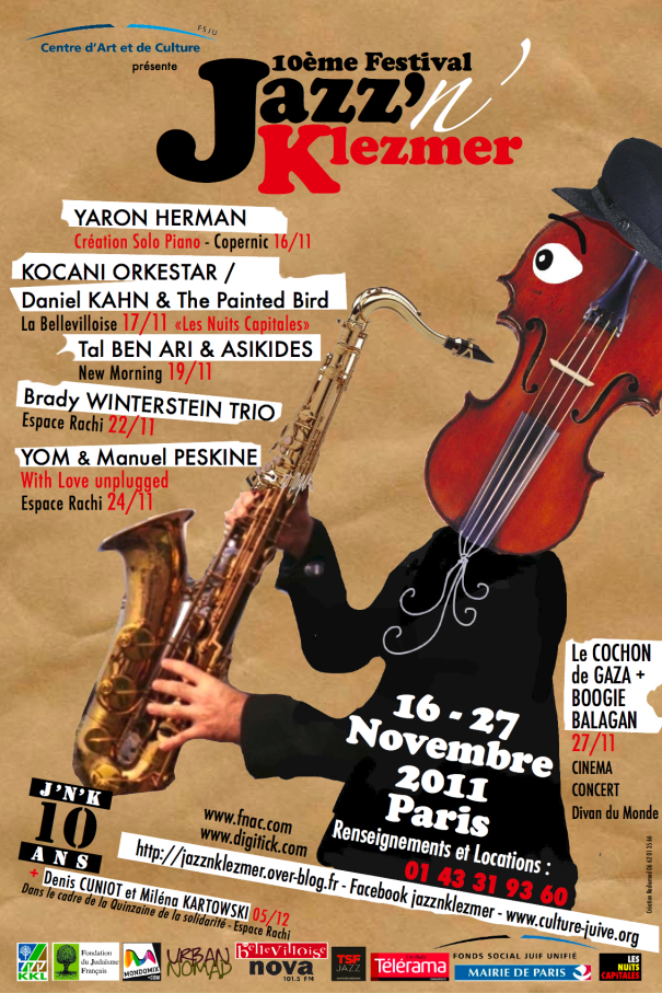 Le festival Jazz'N'Klezmer fête ses 10 ans