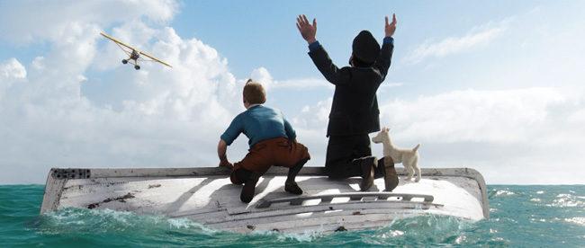 « Les aventures de Tintin : le secret de la Licorne » au cinéma le 26 octobre