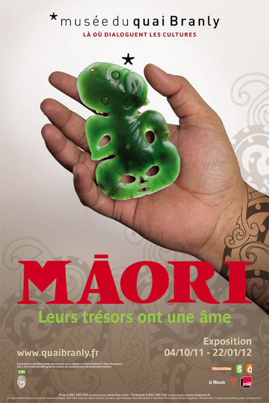 L'âme, les trésors et la souveraineté des Maori au Musée du Quai Branly