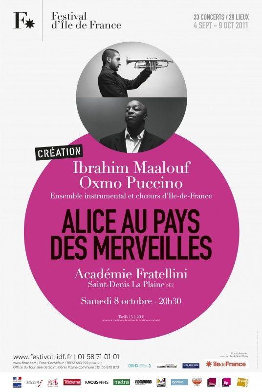 Ibrahim Maalouf et Oxmo Puccino revisitent Alice au pays des merveilles