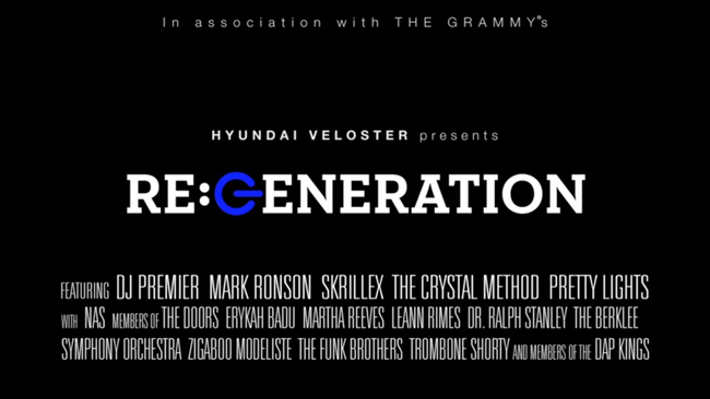 Documentaire : « RE:GENERATION », un pèle-mêle musical bluffant !