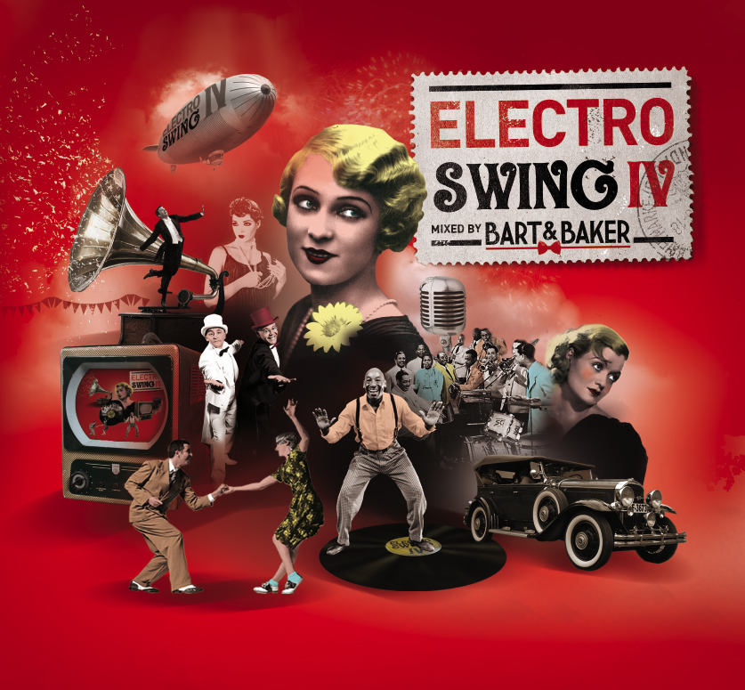 BAL SWING # 7 : soirée autour de la 4e compil Electroswing samedi 5 novembre à l'Elysée Biarritz