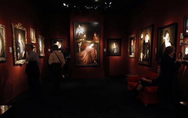 215062_le-tableau-christ-portant-la-croix-nicolas-tournier-expose-a-paris-par-la-galerie-britannique-weiss-le-7-novembre-2011