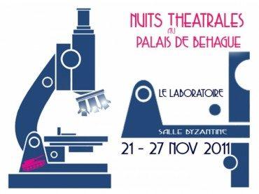 Au Palais de Béhague: Le Laboratoire des Nuits Théâtrales