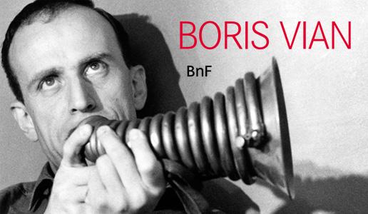 Exposition Boris Vian à la BnF