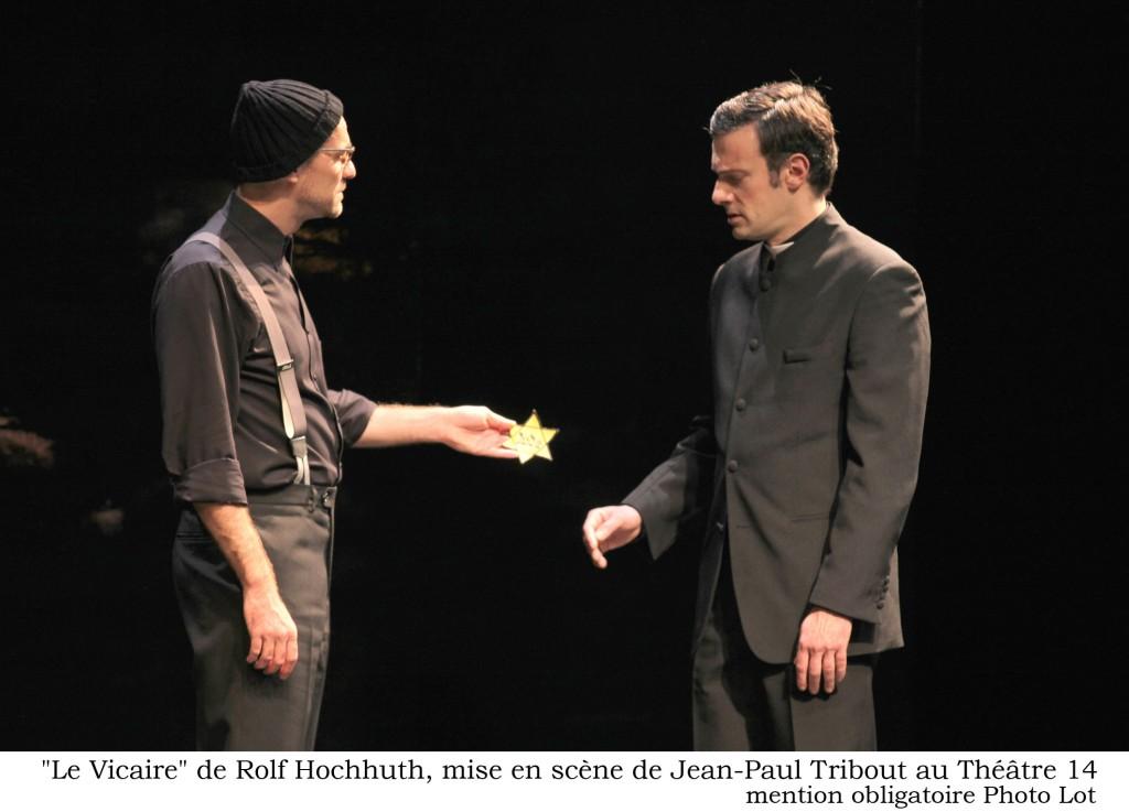 Le vicaire écrit par Rolf Hochhuth au Théâtre 14