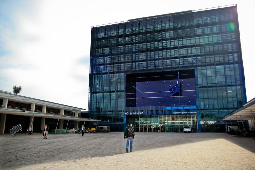 Un nouvel h tel de ville montpellier sign jean nouvel - Hotel de ville montpellier jean nouvel ...