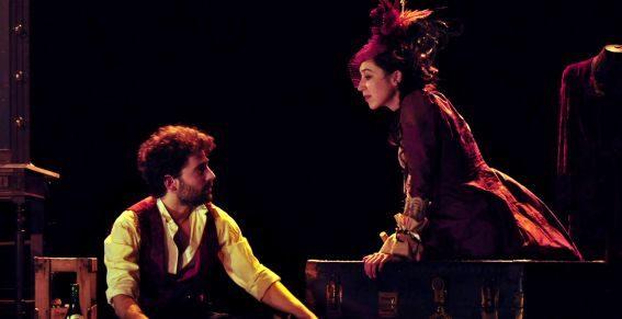Un Cygne qui chante la poésie de Tchékhov au Théâtre Le Lucernaire
