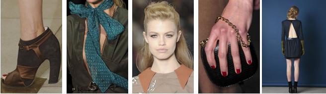 Mode automne-hiver – 2011/12 Influences rétro, des années 40 aux seventies