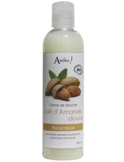 On a testé et adoré : la crème de douche Lait d'Amande douce- Aroma-Zone
