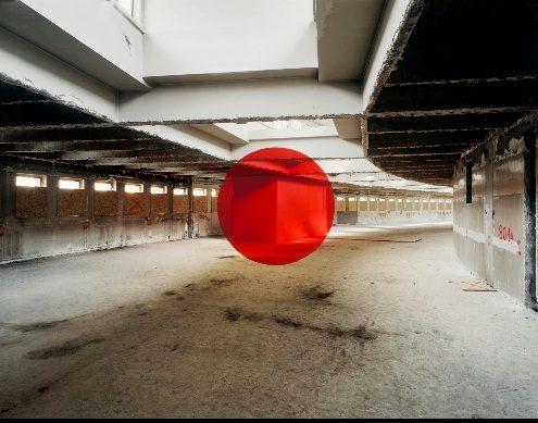 Georges Rousse offre de nouvelles perspectives pour au musée de l'Homme.