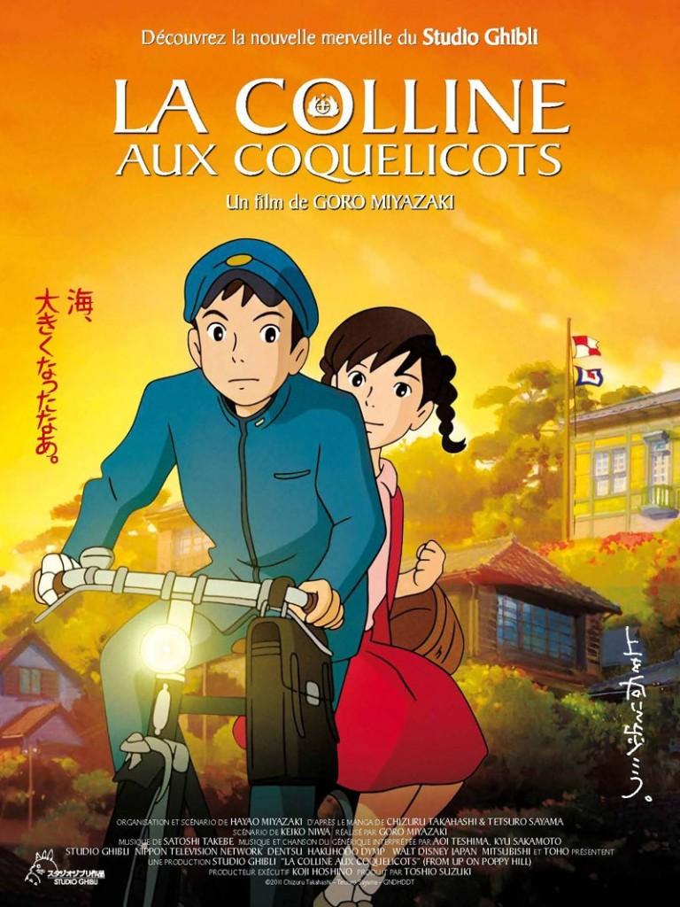 La colline aux coquelicots réalisé par Goro Miyazaki