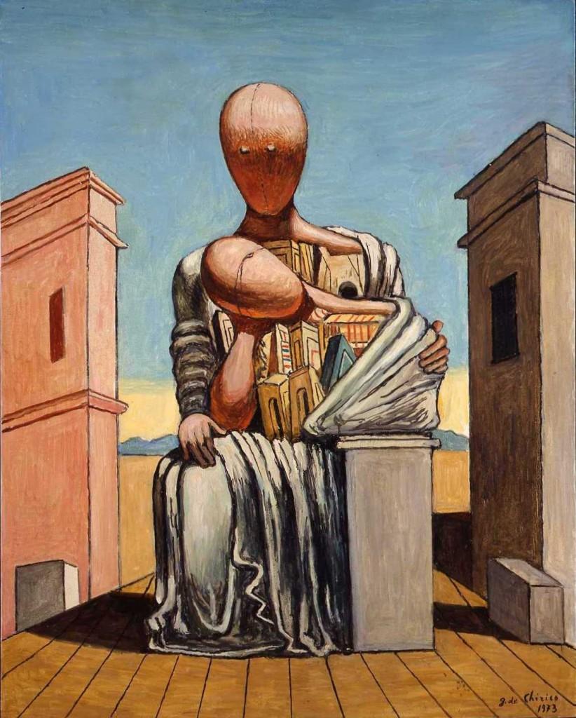 Legs de 61 œuvres de Giorgio de Chirico au Musée d'Art Moderne de la Ville de Paris
