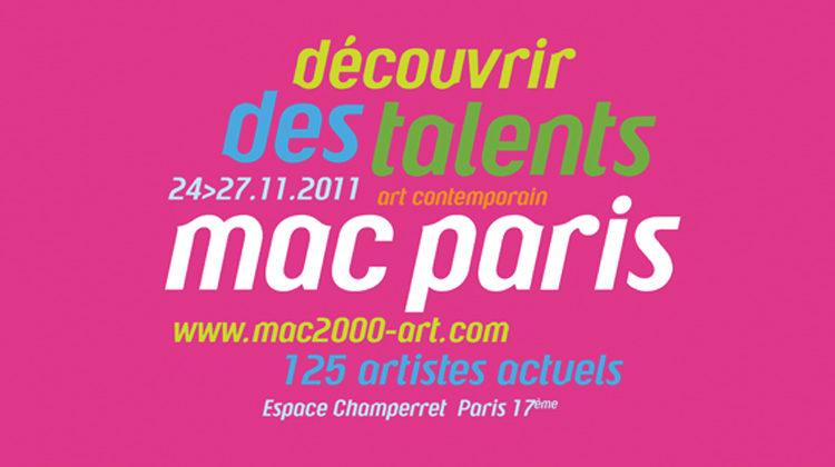 Le meilleur de la création plastique actuelle est exposé au salon MacParis2011