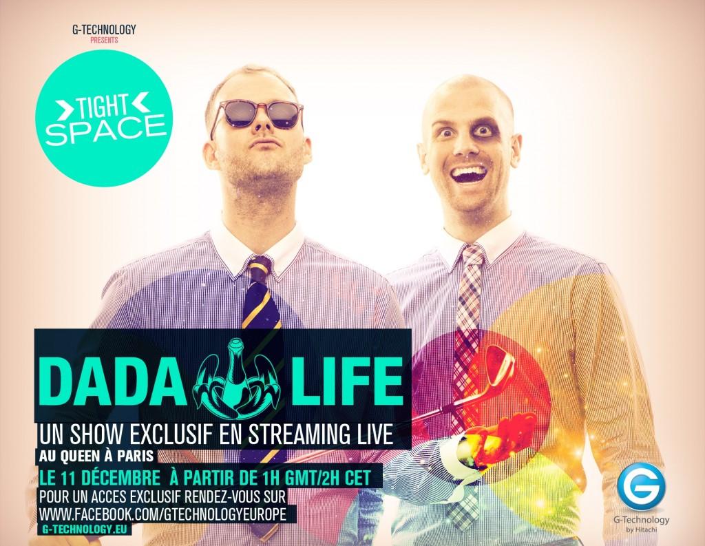 Gagnez 2×2 places pour la soirée Dada Life au Queen le samedi 10 décembre