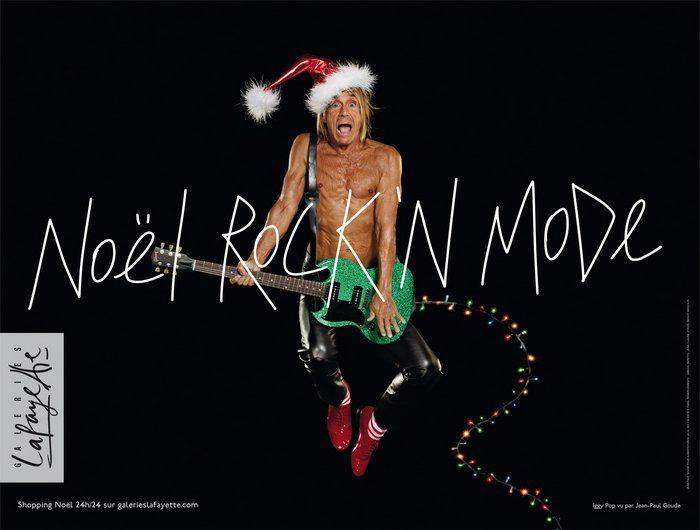 Un Noël Rock & Mode aux Galeries Lafayette