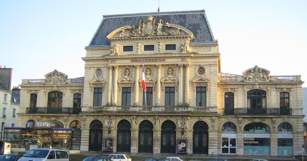 R ouverture du th tre l italienne de cherbourg for Architecture 21eme siecle