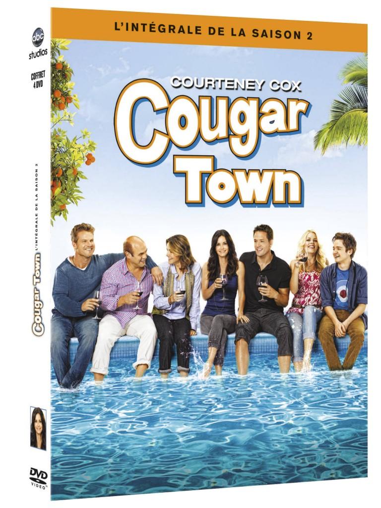 Gagnez 1 coffret DVD de Cougar Town saison 2 + 1 T-shirt + 1 tasse