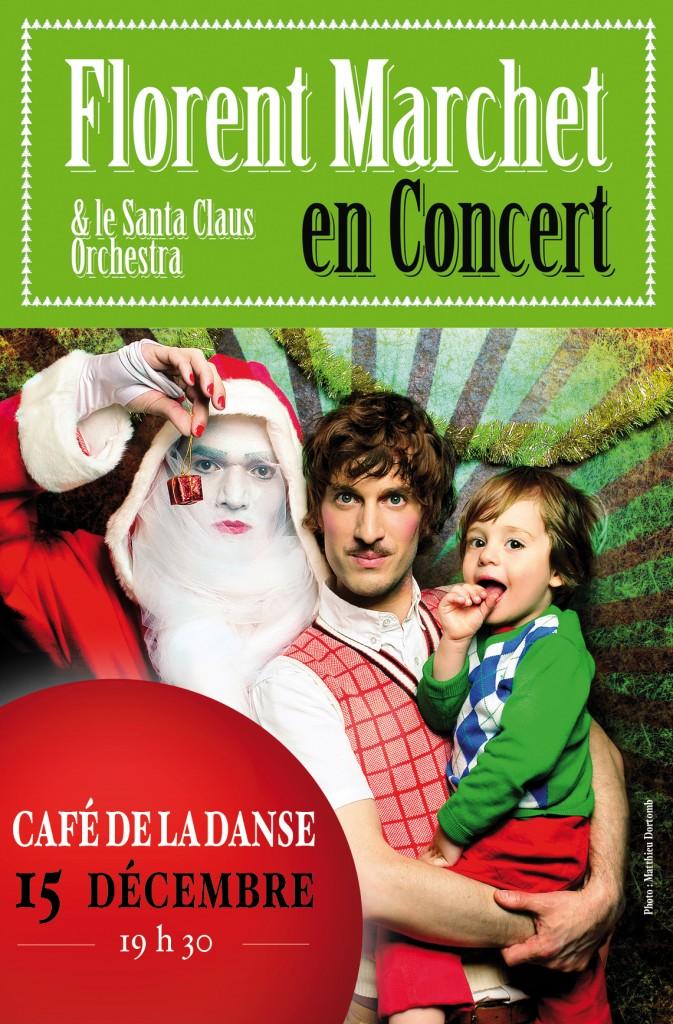 Live report du 15 décembre : fabuleux Noël avec Florent Marchet au Café de la Danse