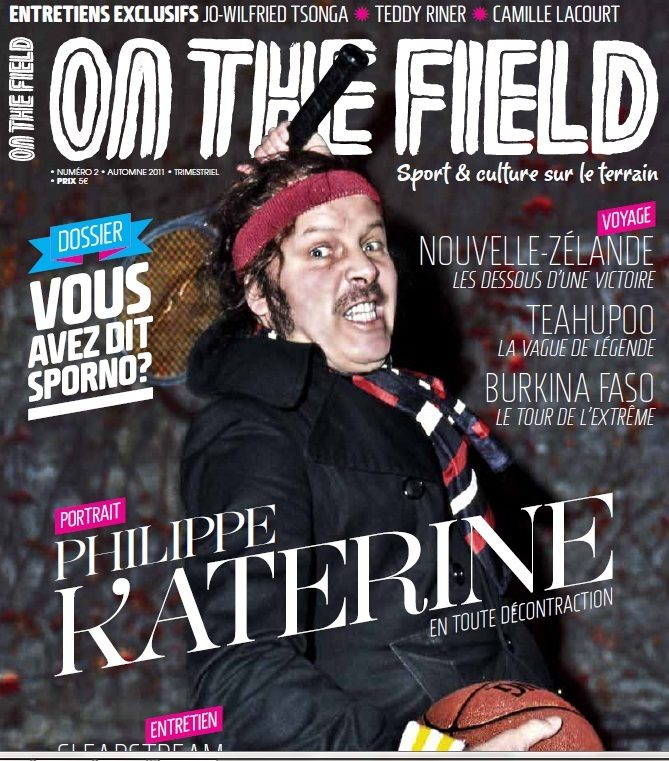 On the field, le nouveau magazine masculin glam et sportif