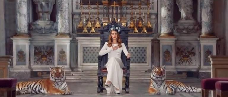 Clip de Born to Die : Lana Del Rey persiste et signe le rêve retro americain