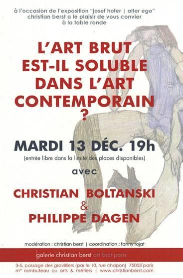 Christian Boltanski interroge l'art brut le 13 décembre à la galerie Christian Berst