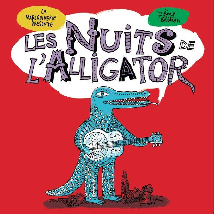 Les Nuits de l'Alligator débarquent en février à la Maroquinerie et au Bataclan