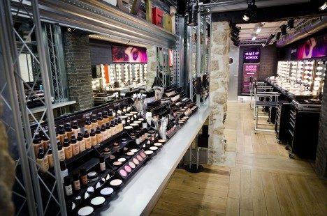 Make Up For Ever ouvre une nouvelle boutique au coeur de la capitale