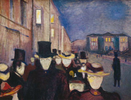 Retrouvez Edvard Munch au musée des Beaux-Arts de Caen