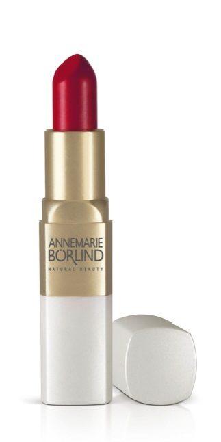 Annemarie Börlind propose une gamme de rouges à lèvres à croquer !