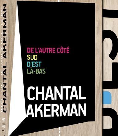 coffret DVD Chantal Akerman_visuel