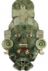 Les masques de jade mayas
