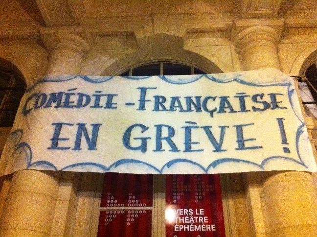 Grève à la Comédie Française… Suite et fin !