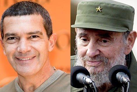Antonio Banderas en Fidel Castro ?