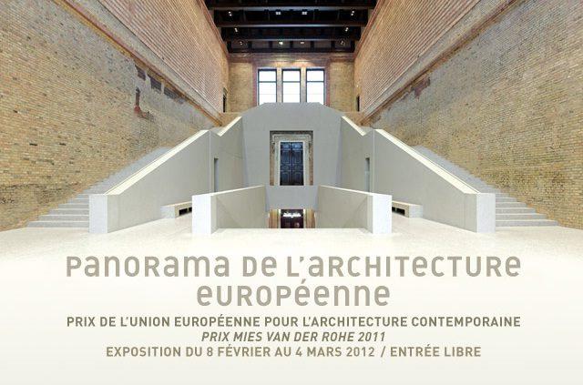 Prix Mies van der Rohe : Panorama de l'architecture européenne à la Cité de l'Architecture