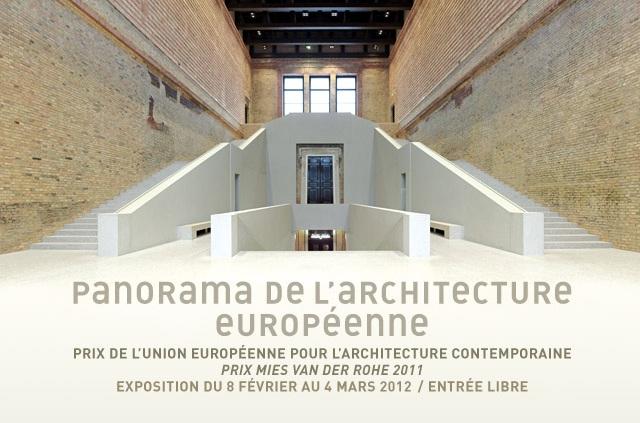 Cité de l'architecture prix mies van der rohe 2011