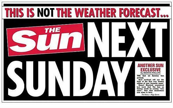 Rupert Murdoch en vente le dimanche