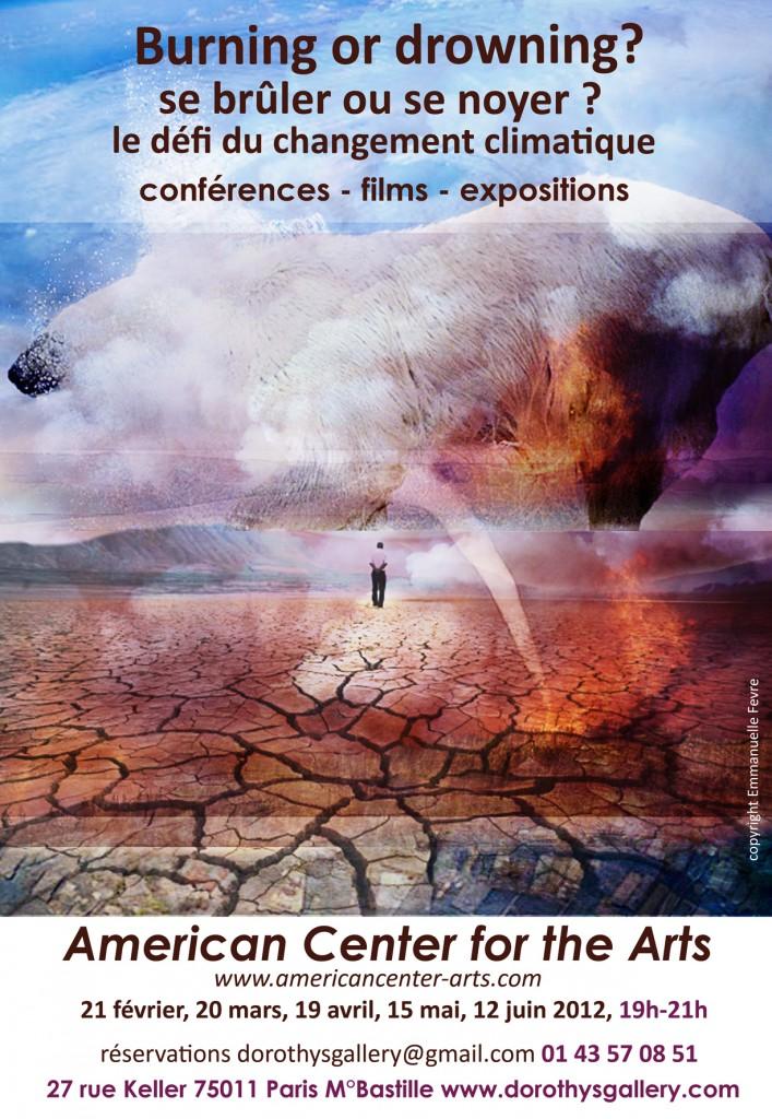 Dès le 21 février, la Dorothy's gallery entremêle l'art et sa vision du changement climatique
