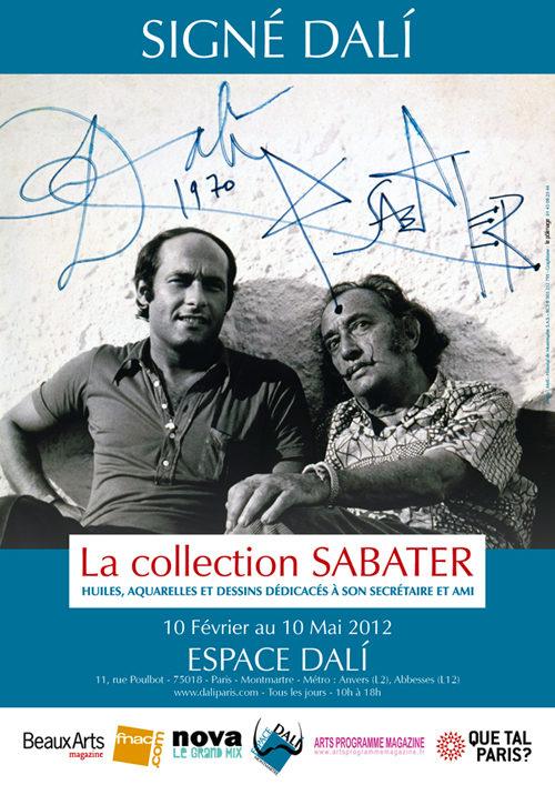 Catalogue Signé Dali La collection Sabater
